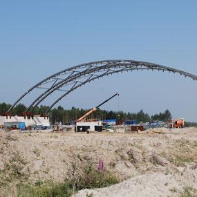 Postęp prac na autostradzie A4 Rzeszów-Dębica