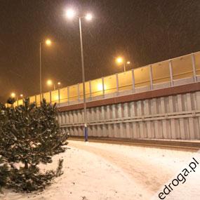 Nie można podliczyć, co zrobiono na autostradzie A1. Wszędzie leży... śnieg