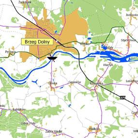 Wykorzystanie systemu GRASS do analizy dostępności czasowej na przykładzie miasta Brzeg Dolny cz. I