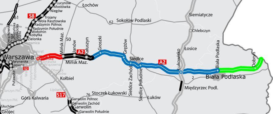 A2 15 Km W Realizacji I 133 Km W Projektowaniu Edroga Pl
