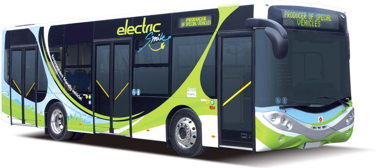 Ursus City Smile Electric Bus Poland