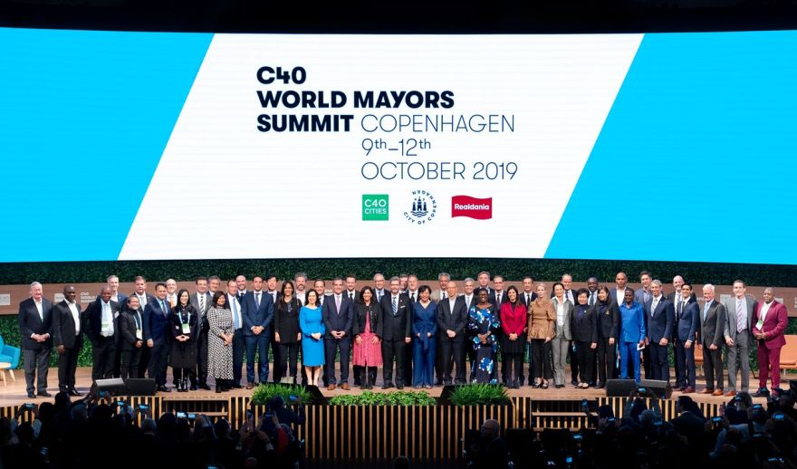 C40 World Mayors Summit Kopenhaga 2019