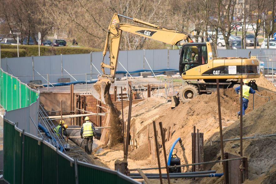 Budowa Metra Na Brodnie Mikrotunele I Murki Prowadzace Edroga Pl